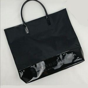 Burberry Fragrance Black Tote Bag